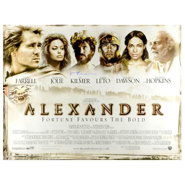 Lot Detail - Val Kilmer Autographed 2004 Alexander Original